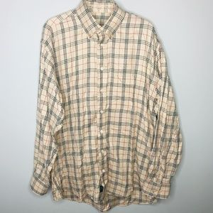 Burberry London Plaid Button Down